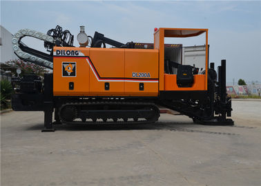20T Rubber Crawler Type HDD Trenchless Boring Machine DL200A 7.5t