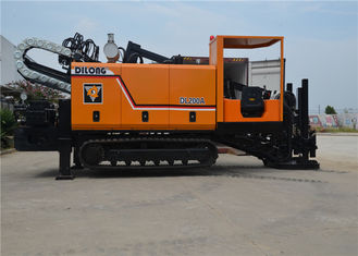 DL200A  Horizontal Directional Engineering Drilling Rig Machine Pipe Pulling 20T