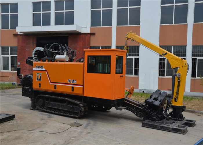 Crawler Hdd Drilling Rig With Manual Cable Laying