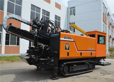 China 66T Trenchless Horizontal Directional Boring Machine Pipe Pulling HDD Machine DL660 factory